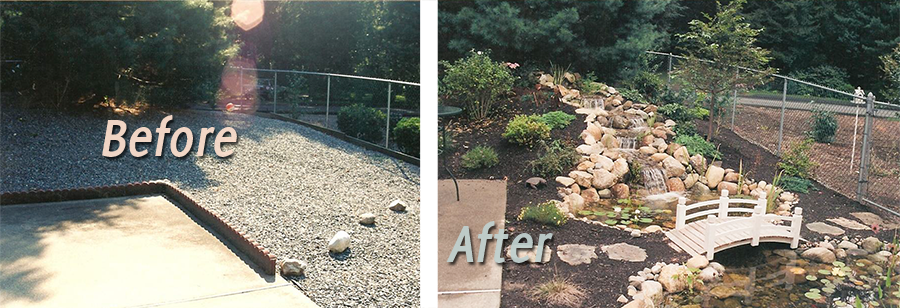 Water Gardens Before & After #1