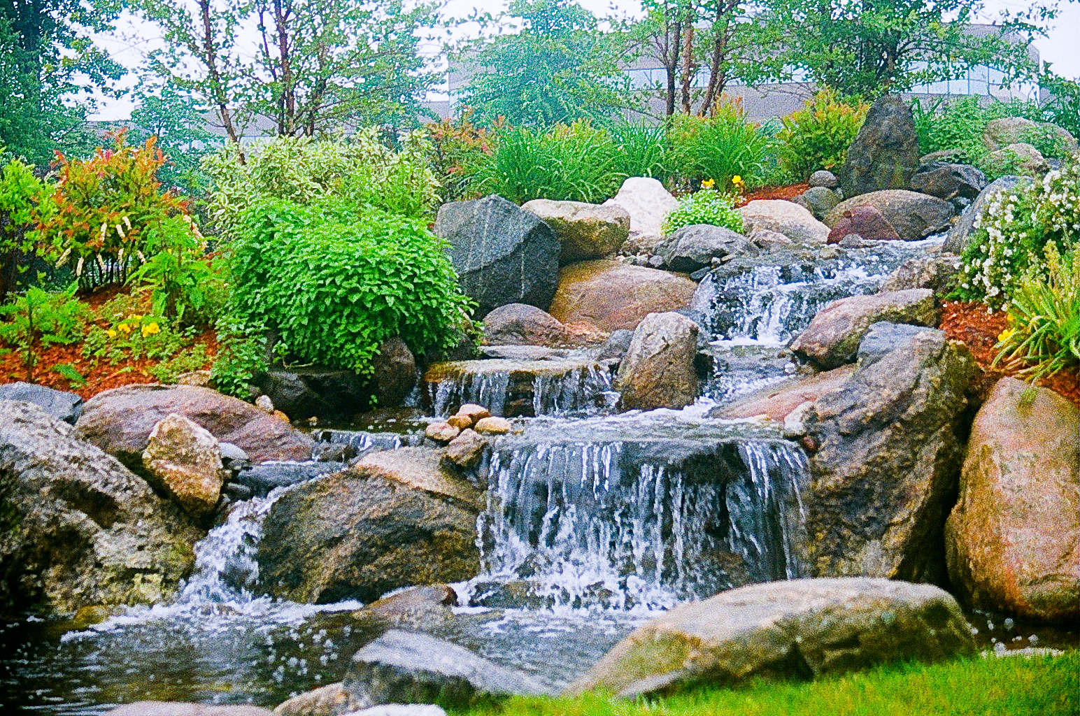 Welcome merrimack valley magazine readers for Water garden landscaping