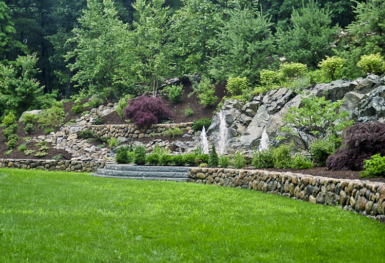 Dana landscape design gallery for Hill design garden
